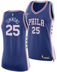 Nike - Ben Simmons Philadelphia 76ers Swingman Jersey - Lyst