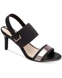 Alfani - Genevia Elastic Dress Sandals, Created For Macy's - Lyst