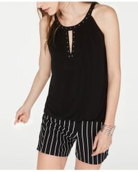 INC International Concepts - I.n.c. Studded Halter Top, Created For Macy's - Lyst