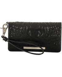 Brahmin - Melbourne Debra Embossed Leather Wristlet - Lyst