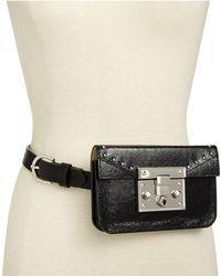 Steve Madden - Structured Hardware Belt Bag - Lyst