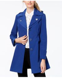 London Fog - Water-resistant Layered-collar Trench Coat - Lyst