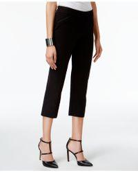 Alfani - Cropped Straight-leg Pants - Lyst