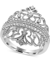 Effy Collection - Diamond Tiara Ring (1/2 Ct. T.w.) In 14k White Gold - Lyst