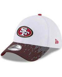 size 40 d2754 f7548 KTZ San Francisco 49ers Logo Blimp 39thirty Cap in Red for Men - Lyst