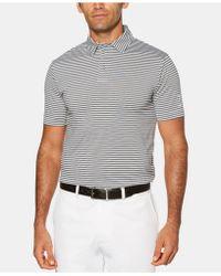 PGA TOUR - Feeder Striped Polo - Lyst
