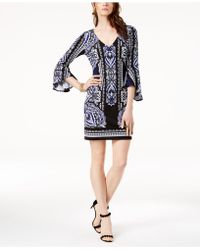 INC International Concepts - I.n.c. Petite Bell-sleeve Dress, Created For Macy's - Lyst