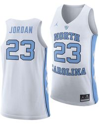 9d8c61d7fee Nike North Carolina Tar Heels Football Replica Game Jersey in Blue for Men  - Lyst