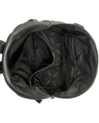 BOSS - Victorian Leather Backpack - Lyst