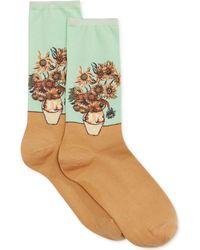 Hot Sox - Women's Sunflower Socks - Lyst