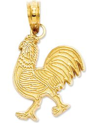 Macy's - 14k Gold Charm, Rooster Charm - Lyst