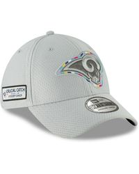 4a0b0a51fca616 KTZ Los Angeles Rams Sideline Knitted Hat in Blue for Men - Lyst