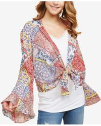 Jessica Simpson - Nursing Kimono Cardigan - Lyst