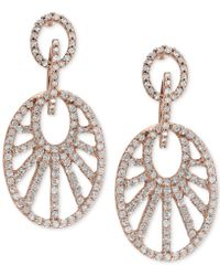 Effy Collection - Diamond Drop Earrings (7/8 Ct. T.w.) In 14k Rose Gold - Lyst