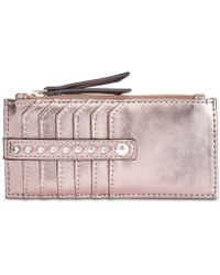 INC International Concepts - I.n.c. Glam Metallic Printed Card Case, Created For Macy's - Lyst