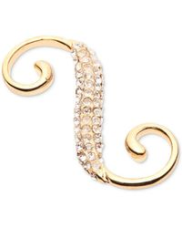 Carolee - Gold-tone Crystal Necklace Extender - Lyst
