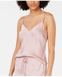 ad10cd86619 INC International Concepts - I.n.c. Scalloped-neck Camisole Pajama Top