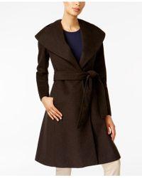 Jones New York - Asymmetrical Shawl-collar Coat - Lyst