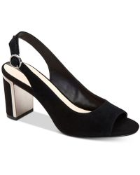 Alfani - Florraa Slingback Peep-toe Dress Sandals, Created For Macy's - Lyst