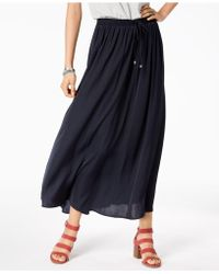 Style & Co. - Petite Drawstring Maxi Skirt, Created For Macy's - Lyst
