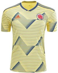da9aac3c2 adidas Colombia Mashup T-shirt in Yellow for Men - Lyst