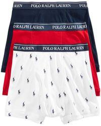 Polo Ralph Lauren - Underwear, Boxer Briefs 3 Pack - Lyst