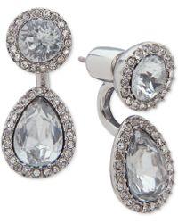 Ivanka Trump - Pavé & Stone Jacket Earrings - Lyst