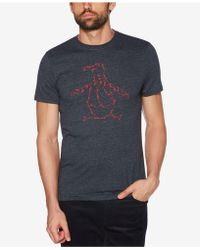 Original Penguin - Dance Step Pete Logo Graphic T-shirt - Lyst