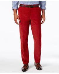 Lauren by Ralph Lauren - Classic-fit Flat-front Corduroy Pants - Lyst