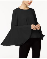 Vince Camuto - Bell-sleeve Top - Lyst