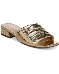 Franco Sarto - Frisco Slip-on Sandals - Lyst