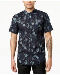 Ezekiel - Moonlight Floral Button-up Shirt - Lyst