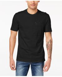 Sean John - Zip-pocket T-shirt, Created For Macy's - Lyst