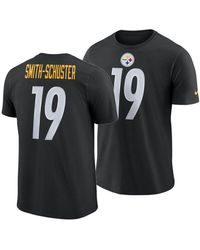 d18db0df Juju Smith-schuster Pittsburgh Steelers Player Pride Name And Number Logo  3.0 T-shirt