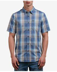 Volcom - Plaid Shirt - Lyst