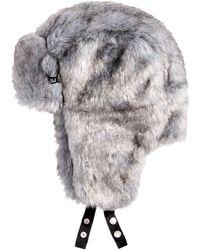 Sean John - Men's Faux Fur Trapper Hat - Lyst