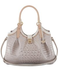 Brahmin - Elisa Tri-color Hobo - Lyst