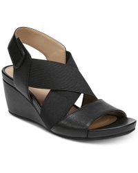 Naturalizer - Cleo Wedge Sandals - Lyst