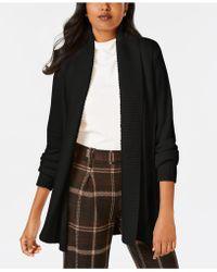 Charter Club - Shawl-collar Long-sleeve Cardigan, Created For Macy's - Lyst