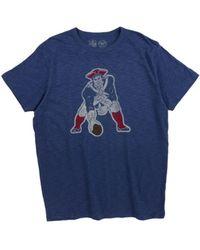 47 Brand - New England Patriots Retro Logo Scrum T-shirt - Lyst