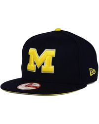 056f1945686 Lyst - Sports Licensed Division Michigan Wolverines Stacked Box ...