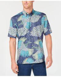 Reyn Spooner - Osaka Dream Reverse-print Pocket Shirt - Lyst