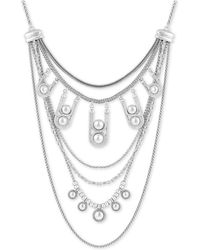 Lucky Brand - It Girl Chain-bead Layered Necklace - Lyst