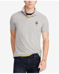 Polo Ralph Lauren - Classic Fit Cotton Polo Bear Shirt, Created For Macy's - Lyst