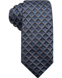 Alfani - Men's Geometric Silk Slim Tie - Lyst