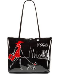 Macy's - Walking Dog Small Tote, Created For - Lyst