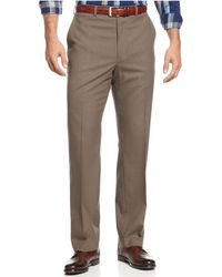 Michael Kors - Flat-front Dress Trousers - Lyst
