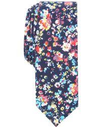 Original Penguin - Freedman Floral Skinny Tie - Lyst