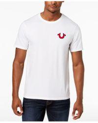 True Religion - Logo Graphic T-shirt - Lyst