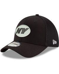 KTZ - New York Jets Black/white Neo Mb 39thirty Cap - Lyst